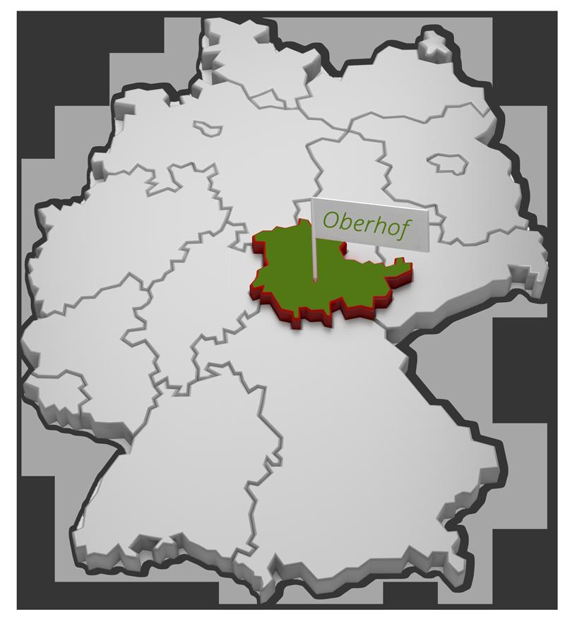 Deutschlandkarte | © fotomek - fotolia.com