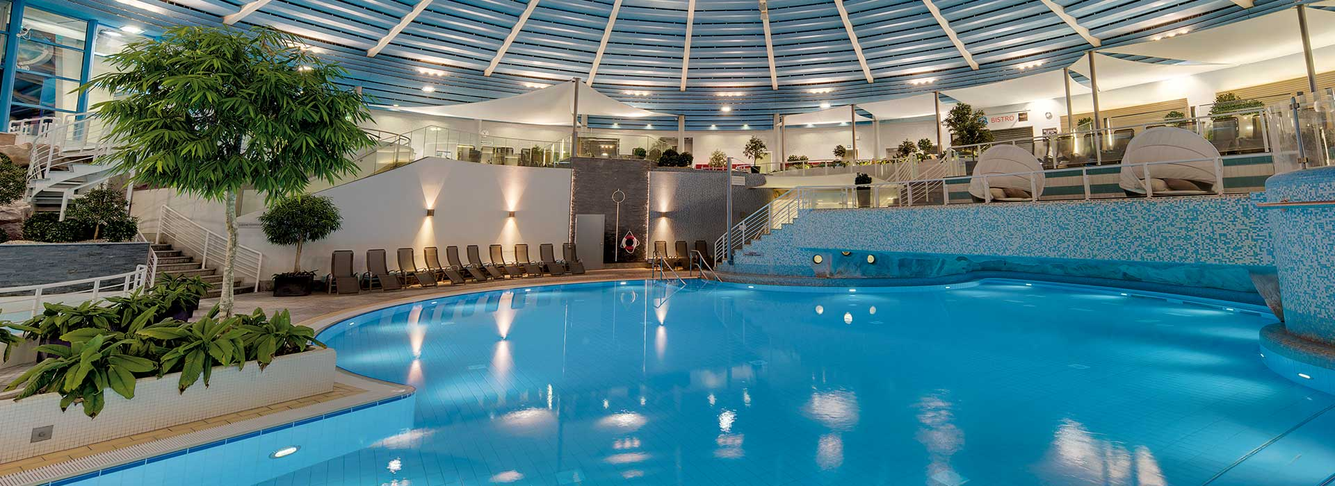 H2Oberhof Wellnessbad, Pool   © Oberhof Sportstätten GmbH