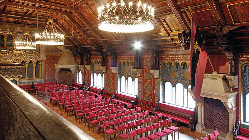 Festsaal auf der Wartburg | © Thüringer Tourismus GmbH