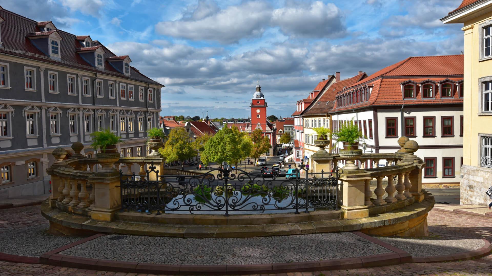 Gotha, Blick auf den Hauptmarkt   © Uwe Albert-Thiele - fotolia.com