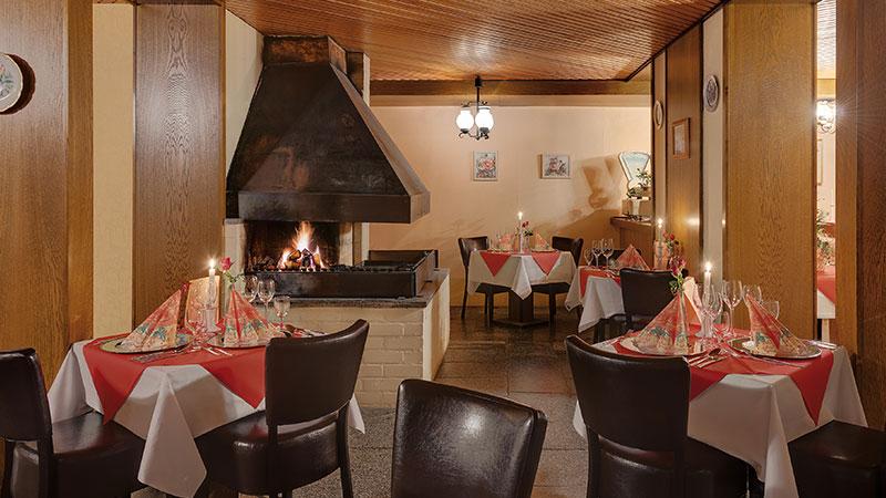 Kaminstube im Schlossberg Hotel Oberhof