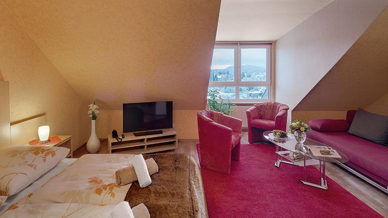 Komfortdoppelzimmer Schlossberghotel Oberhof