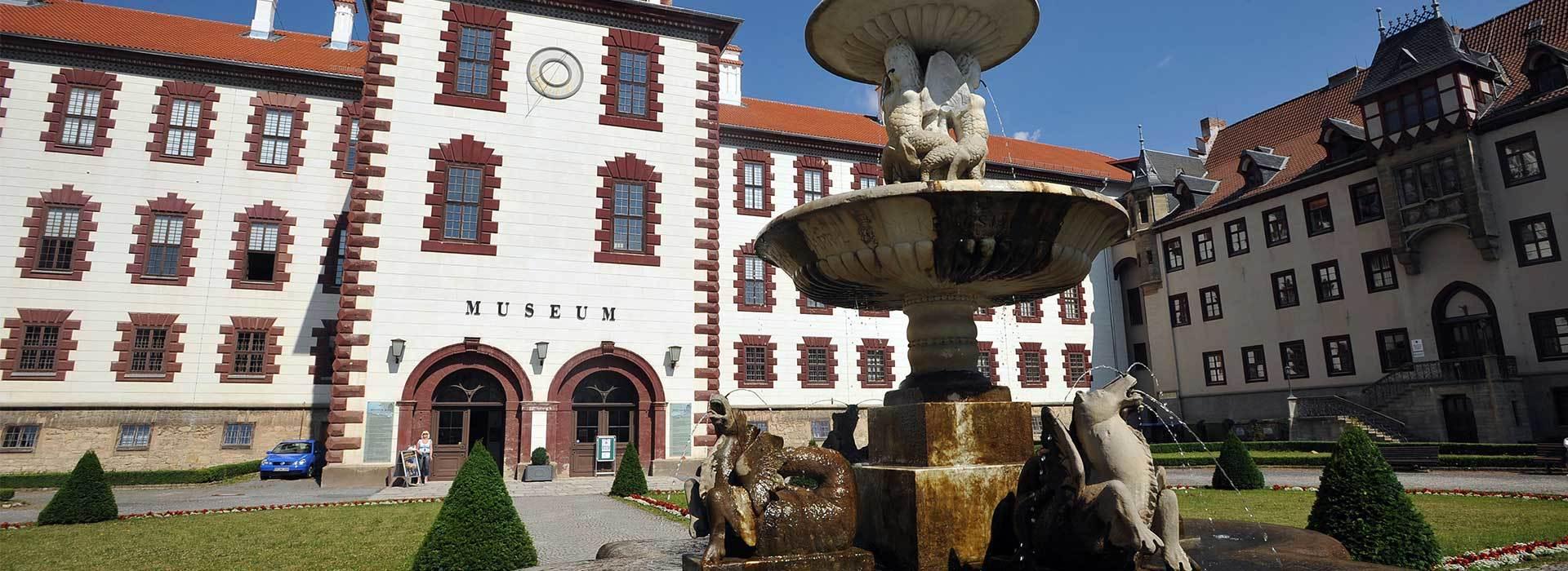 Schlossanlage Meiningen - Ausflüge für Gruppenreisen in Thüringen | Fotograf: Maik Schuck | Bildeigner: Thüringer Tourismus GmbH