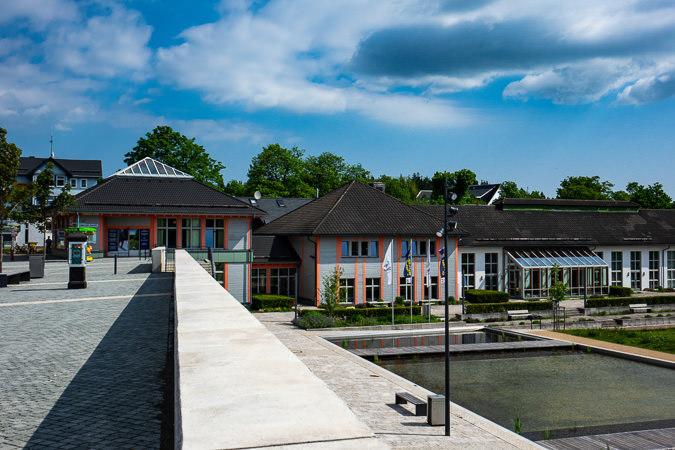 Ortsansicht Oberhof, Thüringer Wald | Haus des Gastes