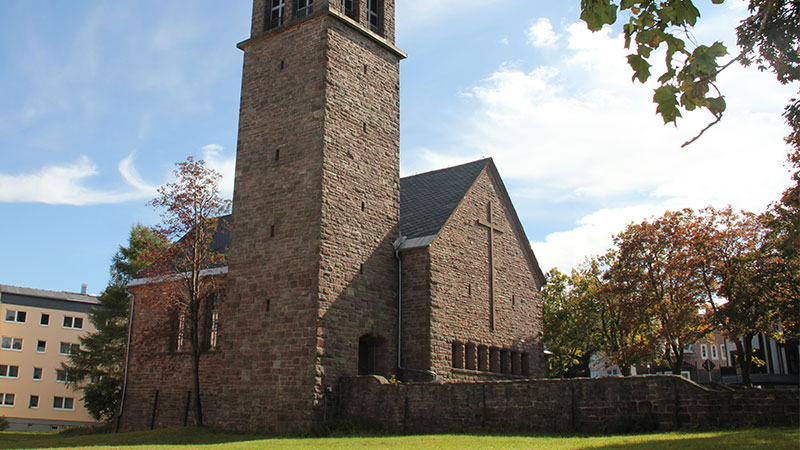 Kirche in Oberhof, Stadtrundgang   © Tourist Information Oberhof