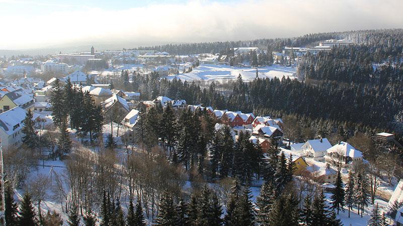 Winterblick auf Oberhof   © Tourist Information Oberhof