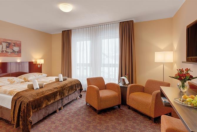 Premiumzimmer im Schlossberghotel Oberhof