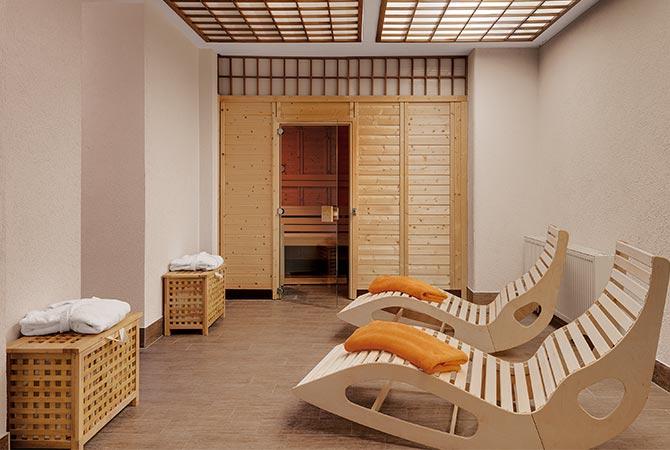 Sauna im Schlossberghotel Oberhof