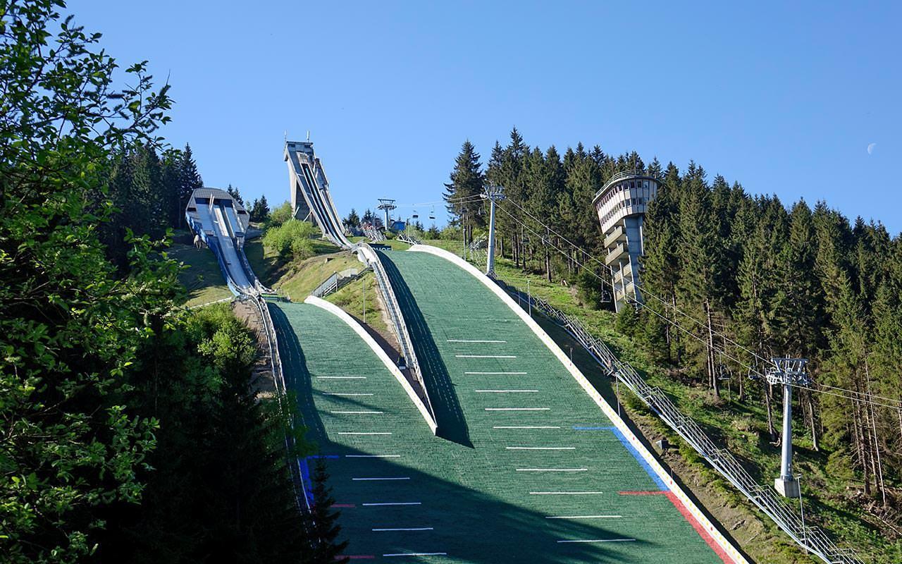 Schanzenanlage Sportstätten Oberhof | Foto: Ivonne Sütterlin (Henninger Hotels)
