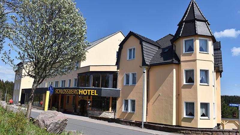 Eingangsbereich Schlossberghotel Oberhof