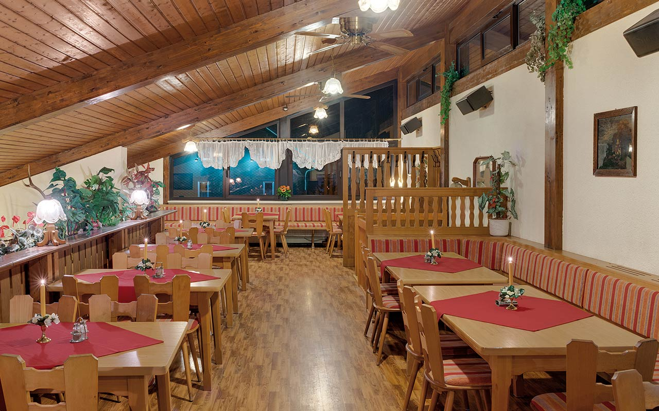 Hotel Thüringenschanze Oberhof, Restaurant Empore