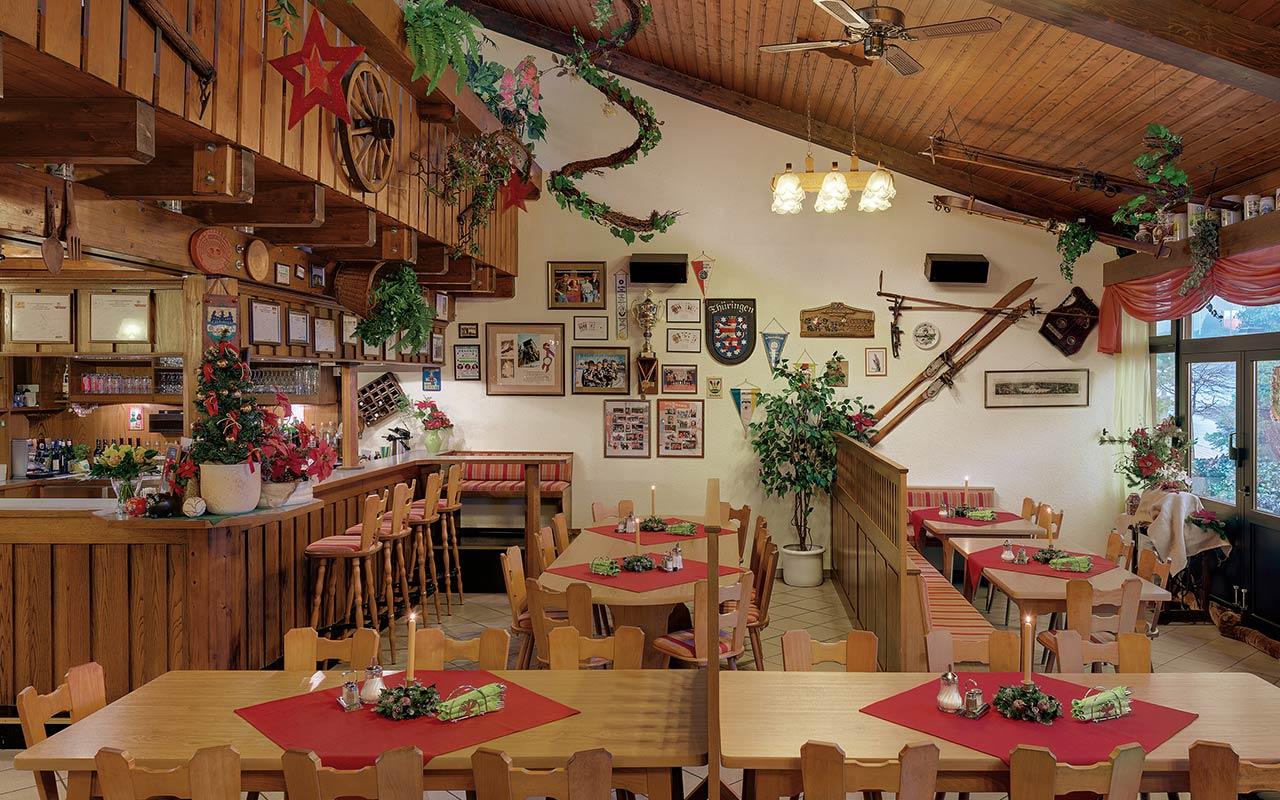 Hotel Thüringenschanze Oberhof, Restaurant