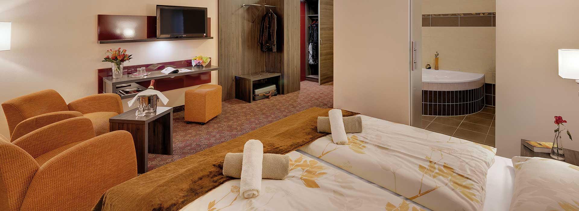 Unterkünfte für Gruppenreisen in Oberhof   Blick Premium-Zimmer Schlossberghotel