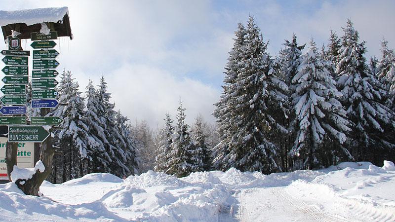 Winterwanderung in Oberhof   © Tourist Information Oberhof
