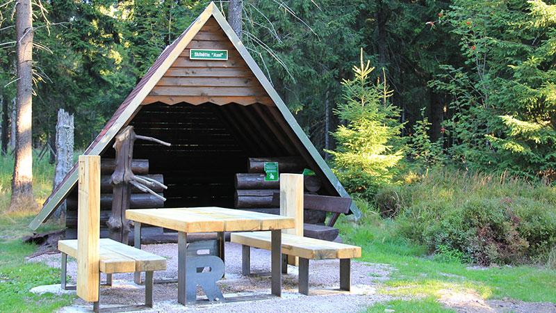 Wanderschutzhütte Axel bei Oberhof   © Tourist Information Oberhof